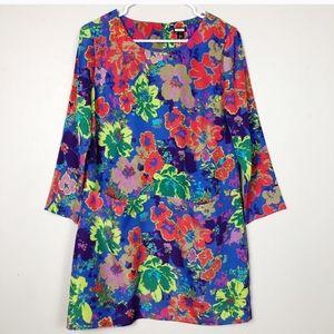 J.CREW - Floral Print Shift Dress